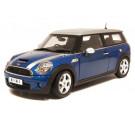 Miniature 1/18 Mini Cooper S Clubman 2007 bleue/silver Kyosho