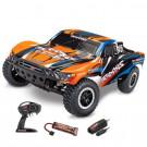 Slash 4x2 Orange X Brushed avec Batterie et chargeur 12v Traxxas