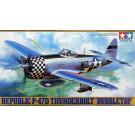 Maquette de P-47d thunderb. Bubbletop (1/48) Tamiya