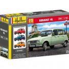 Maquette de Renault 4 GTL 1/24