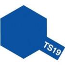 Bombes de peinture Bleu Métallisé TS19 Tamiya