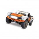 Unlimited Desert Racer 4X4 Orange Fox + LED et télémétrie Traxxas