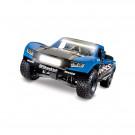 Unlimited Desert Racer 4X4 Bleu + LED et télémétrie Traxxas