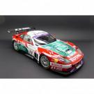 Miniature 1/18 Ferrari 575 GTC Team G.P.C Spa-Francorchamps 2004 Kyosho