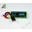 Black Lithium 2000mAh 35C 2S TRAXXAS