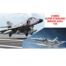 Maquette Combo S. Etend/Mirage 2000C 1/48
