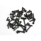 Screw set, self-tapping screws (black) (tom cat/ spirit)