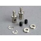 Servo rod connectors (2)/ 3mm set screws