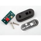 Push button, remote/ switch cover/ 2x12 cm (2)