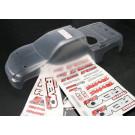Carrosserie transparente revo 3.3 (chassis rallonge) + autocollants