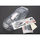 Carrosserie e-revo 1/16eme transparente + autocollants