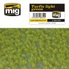 Touffes d'herbe claires pour diorama