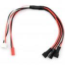 Câble de charge pour 3 Lipo 1S avec prise XH : Walkera micro plug
