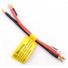Câble de charge (XH) : Lipo voiture 2S avec 4mm doré