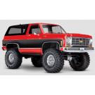 TRX-4 Chevy Blazer K5 Traxxas Rouge
