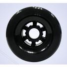 Roue avant 90mm Noir sans roulements pour skateboard éléctrique