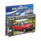 Maquette de VW GOLF 1 CABRIOLET 1/24 Model Set