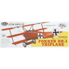Avion en kit Fokker DR-1 Triplane Guillow's