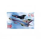 Maquette d'avion MiG-21MF 1/72