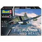 Maquette de F-4g phantom ii wild weasel 1/32