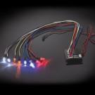 Kit feux multiples fonctions 8 LED pour voiture RC