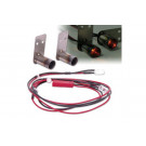 Sortie d'echapement métal avec led pour crawler (x2)