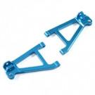 Bras avant inférieur aluminium bleu pour mini slash/mini e-revo