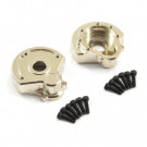 Fastrax TRX-4 Heavy Duty Brass Steering Gear Cover (2)