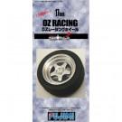 Jantes pour maquettes Tw-55 17inch Oz Racing 1/24 Fujimi