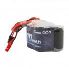 Batterie RX NiMh 6.0V 1700Mah Hump prise BEC et JR
