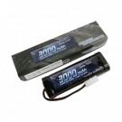 Batterie NI-MH 7.2V 3000MAH Stick Prise Tamiya