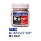 Dissolvant pour Mr White Putty Gunze