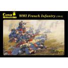 Figurines INFANTERIE FRANÇAISE -1914 (1/72)