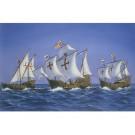 Maquettes de bateaux Christophe Collomb Coffret prestige