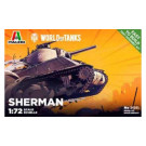 Maquette Italeri de Sherman  World of Tanks 1/72