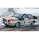 Maquette d'Audi Quattro Rally 1/24