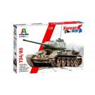 Maquette de tank T-34/85 Guerre de Corée 1/35