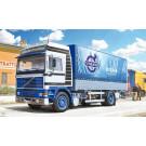 Maquette de camion Volvo FH16 bâché avec hayon Italeri