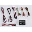 Système d'éclairage à LEDs pour voitures RC 1:10 avec boîtier de contrôle et 10 LEDs