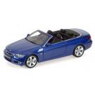 Miniature 1/18 BMW 335i Convertible bleue Kyosho