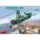 Maquette d'autogire Avro Cierva C030A service civil 1936 1/35