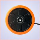 Roue Brushless 90mm 800W Longboard Électrique DIY Orange (a l'unité)