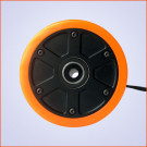 Roue Brushless 90mm 250W Longboard Électrique DIY Orange