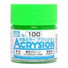N99 vert fluorescent brillant
