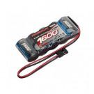 Batterie RX XTEC 1600mAh NIMH plate prise JR