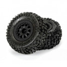 Pneus Proline Badlands sc 2.2/3 montés Renegade noir pour Slash 4X4