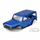 Carrosserie prépeinte Jeep Wrangler Rubicon pour TRX-4
