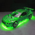 Kit de LED Néon vert pour voiture RC