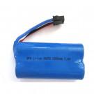 Batterie LIPO 1500mAh 7.4V 2s Tempo