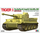 Pzkpfw VI TIGER I - Production initiale début 1943 - FRONT DE TUNISIE (1/35)
